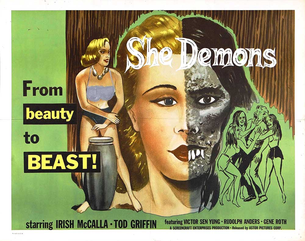 She Demons poster